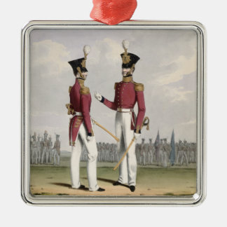 Field Officers of the Royal Marines, plate 2 from Christmas Ornament
