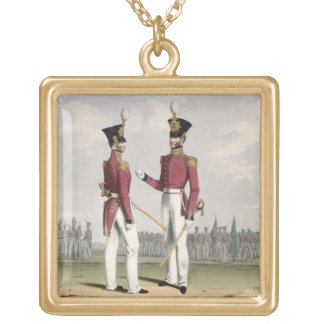 Field Officers of the Royal Marines, plate 2 from Gold Plated Necklace