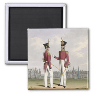 Field Officers of the Royal Marines, plate 2 from Magnet