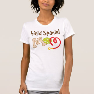 Field Spaniel Dog Breed Mom Gift T-Shirt