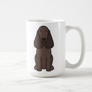 Field Spaniel Dog Cartoon Coffee Mug