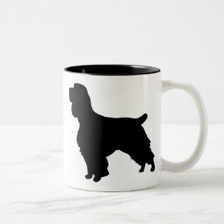 Field Spaniel Gear Two-Tone Coffee Mug