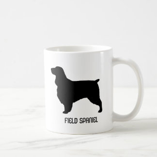 Field Spaniel Silhouettes Coffee Mug