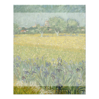 Field with Flowers Near Arles by Vincent Van Gogh 11.5 Cm X 14 Cm Flyer