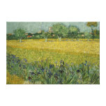 Field with flowers near Arles Canvas Canvas Print