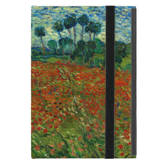Field with Poppies by Van Gogh Fine Art iPad Mini Cover