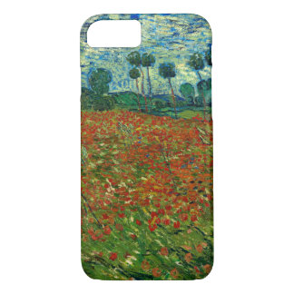 Field with Poppies by Van Gogh Fine Art iPhone 8/7 Case