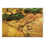 Field with Two Rabbits by Vincent van Gogh