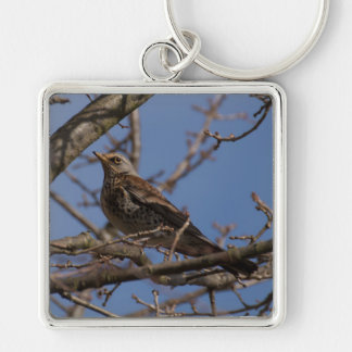 Fieldfare Key Ring