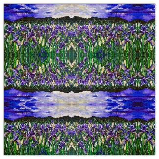 Fields of Spring Storm Iris Fabric