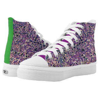 FIELDS OF WONDER HIGH TOP PRINTED SHOES