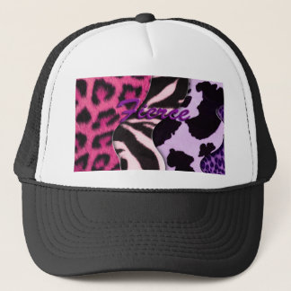 Fierce Animal Print Trucker Hat