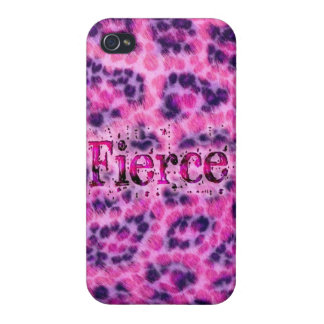 Fierce Cheetah Print Case For iPhone 4