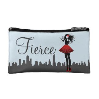 Fierce Female Starry Cosmetic Bag