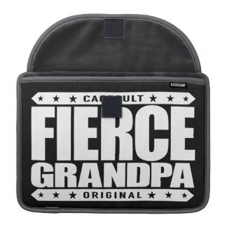 FIERCE GRANDPA - Still Frisky With Stamina & Vigor MacBook Pro Sleeve