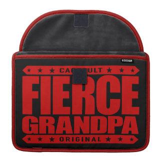 FIERCE GRANDPA - Still Frisky With Stamina & Vigor Sleeve For MacBook Pro