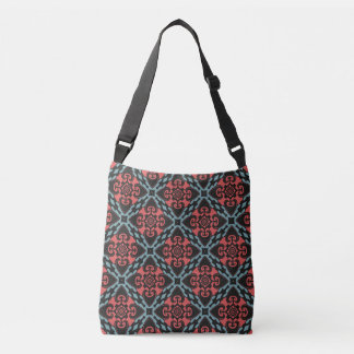 Fierce Heart Tribal Crossbody Bag