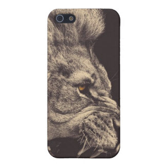 Fierce Lion iPhone 5 Cover
