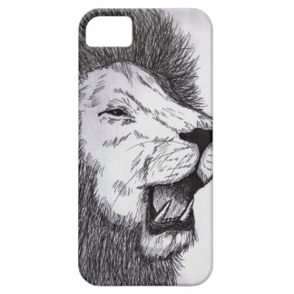Fierce Lion iPhone Case