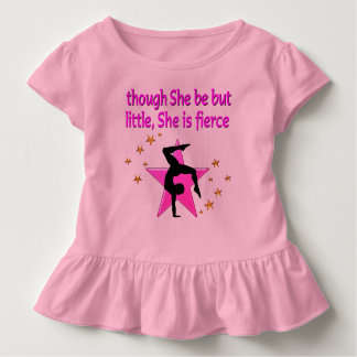 FIERCE LITTLE GYMNAST GIRL TODDLER T-Shirt
