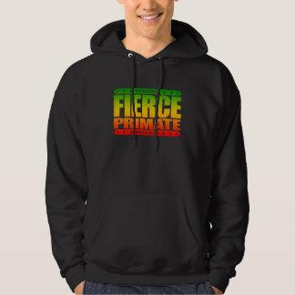 FIERCE PRIMATE - A Fearless Warrior With Chimp DNA Sweatshirt