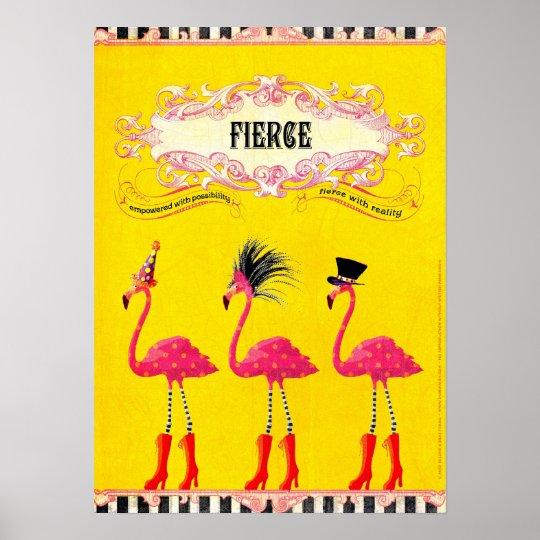 Fierce (Print) Poster