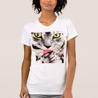 Fierce Tabby Cat T-Shirt