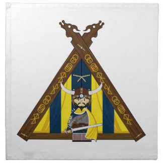 Fierce Vikings and Tent Napkin