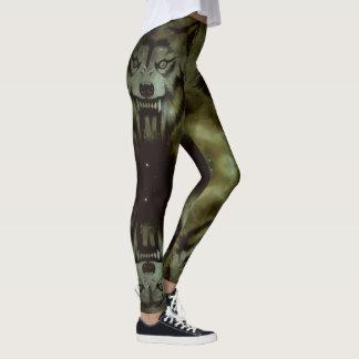 Fierce Wolf Designs Leggings