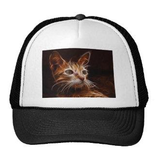 Fiery Art Cat Cap