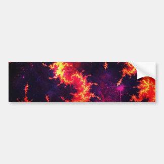 Fiery Bumper Stickers
