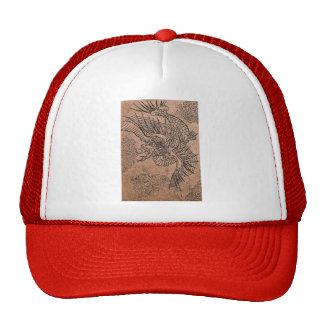 Fiery Dragon Mesh Hats