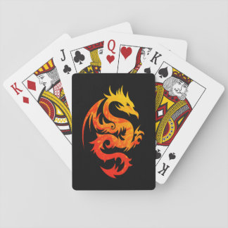 FIERY DRAGON PLAYING CARDS