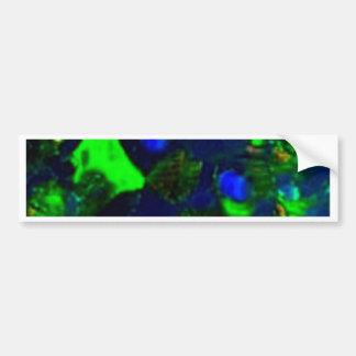 Fiery Green-Black Opal Gifts By Sharles Bumper Sticker