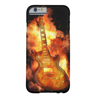 Fiery guitar barely there iPhone 6 case