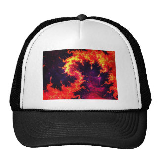 Fiery Trucker Hats