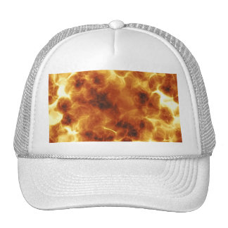 Fiery Inferno Explosion Textured Cap