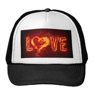 Fiery Love Cap