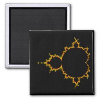 Fiery Mandelbrot Set Magnet