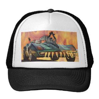 Fiery Monsta Car Baseball Trucker Hat - Customized