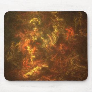 fiery mouse mat