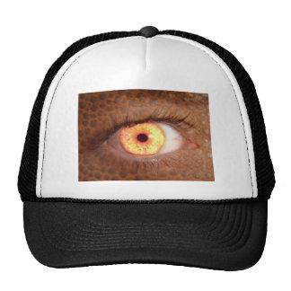 Fiery Mutant Eye Mouse Pad Cap