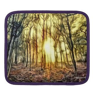 Fiery Night Cover iPad Sleeve