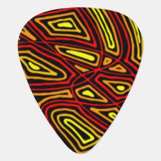 Fiery Night Guitar Pick