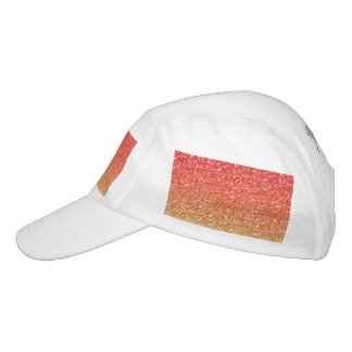 Fiery Ombre with Glitter Effect Hat