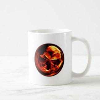 Fiery Orb Basic White Mug