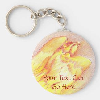 Fiery Phoenix Keychain