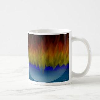 Fiery reflections mug