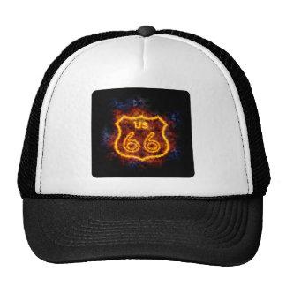 Fiery Route 66 Cap