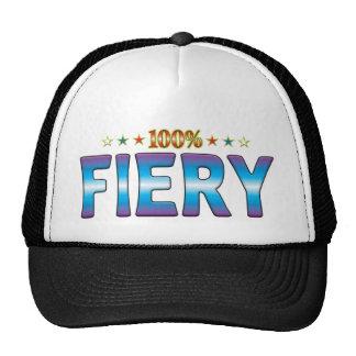 Fiery Star Tag v2 Hats
